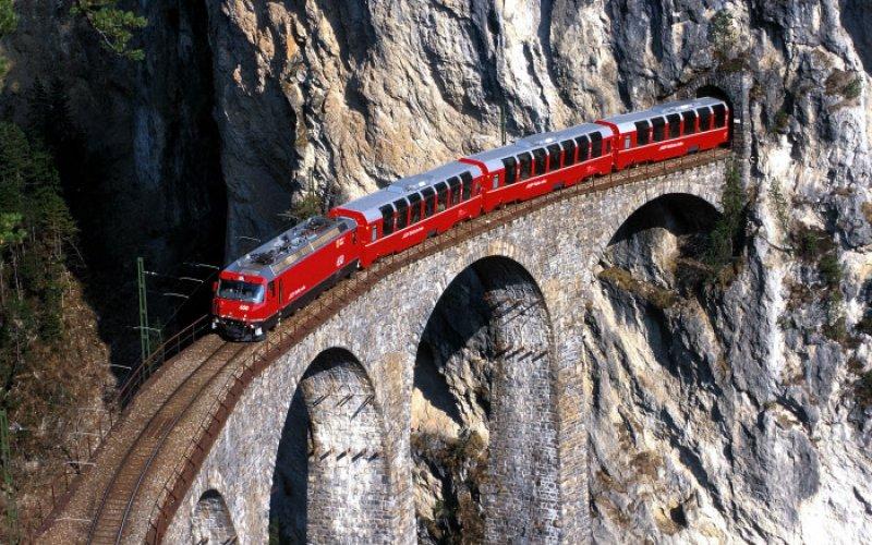 Bernina Express, Switzerland – Italy