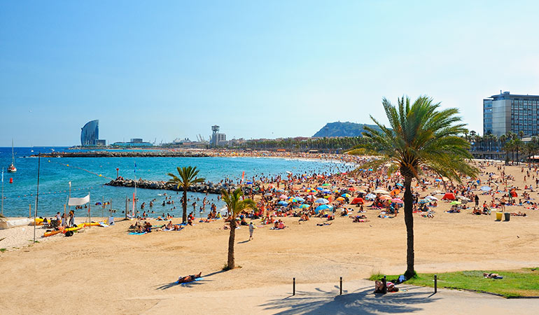 La Barceloneta Barcelona city attractions