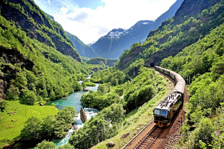 The Flam Railway, Norway