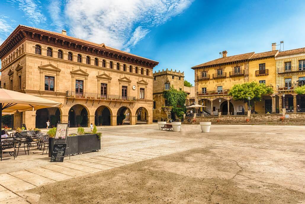 Poble Espanyol Barcelona city attractions