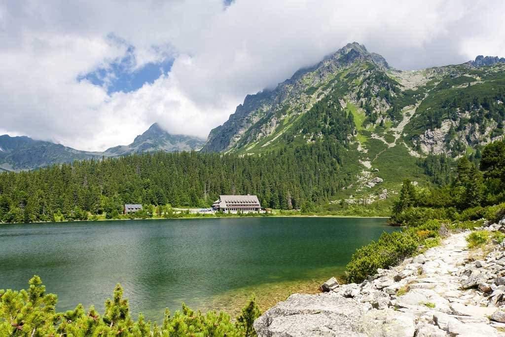 The High Tatras Slovakia