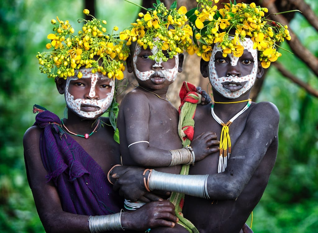 Omo Valley people tribal