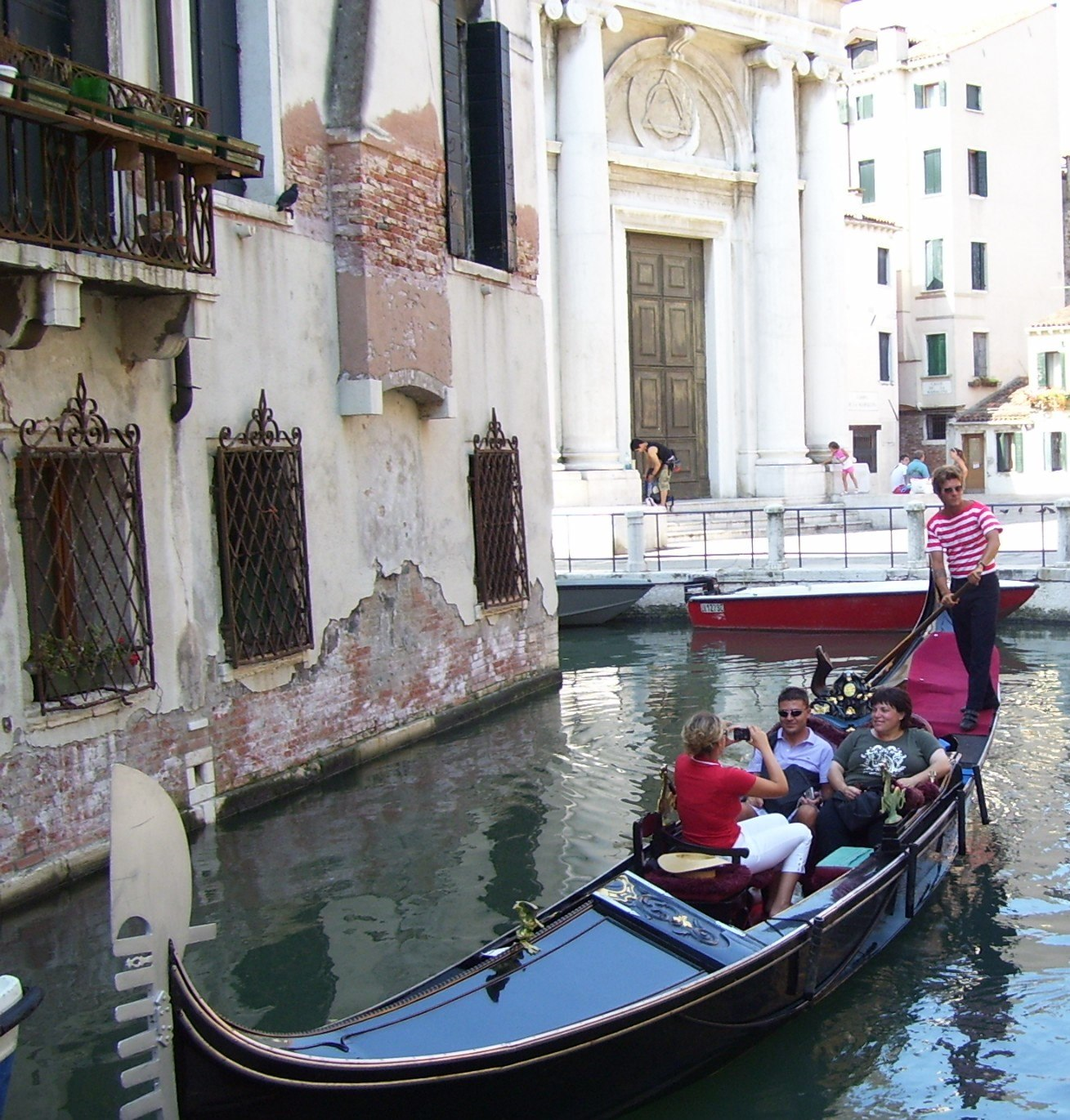 Ride in a gondola Venetian things to do in Venice
