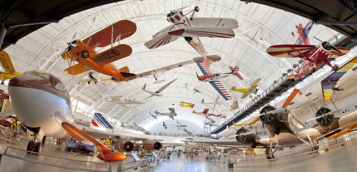 National-Air-and-Space-Museum,-Washington,-D.C. most visited museums