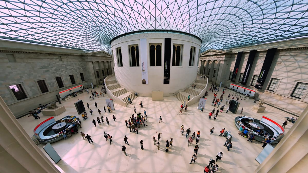 The-British-Museum,-London