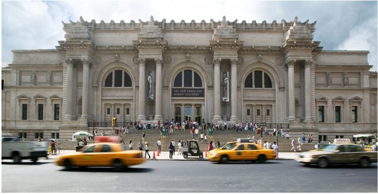 The-Metropolitan-Museum-of-Art,-New-York-City most visited museums