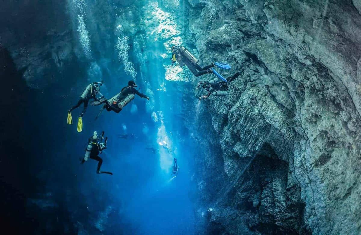 The Riviera Maya to dive