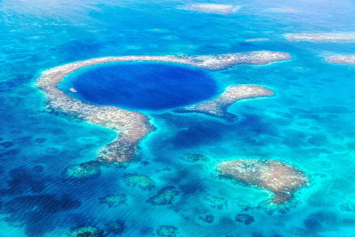 Great Blue Hole scuba