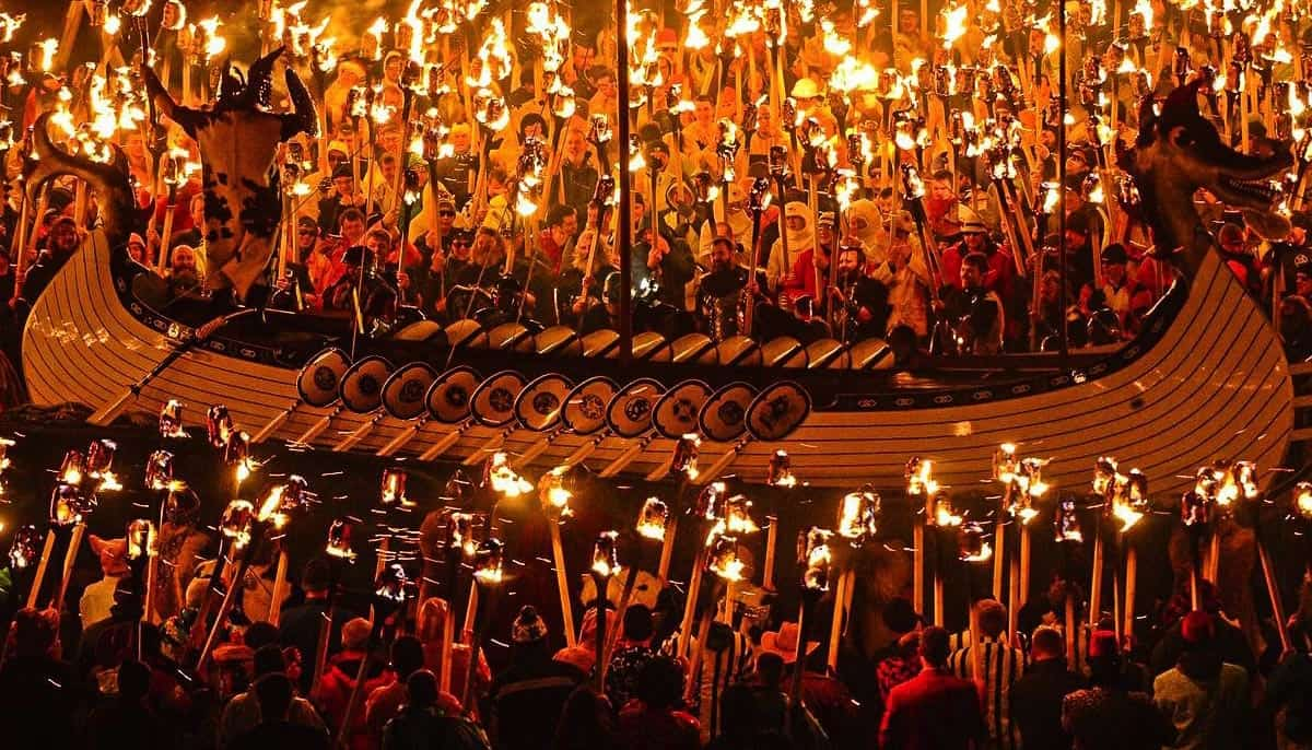 up helly aa winter festival