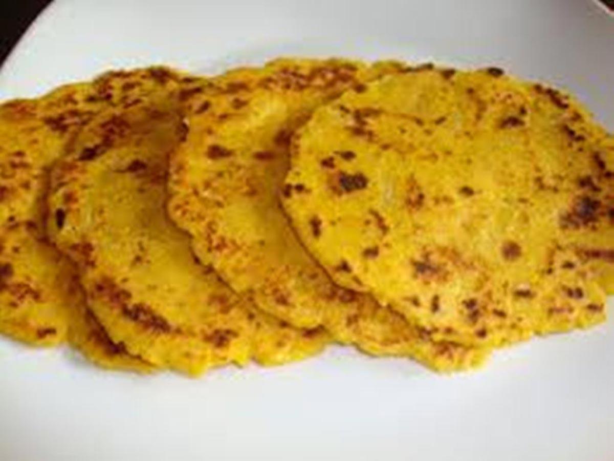 makki-di-roti-indian food