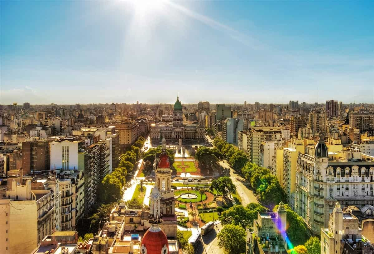 buenos aires most visited latin america cities