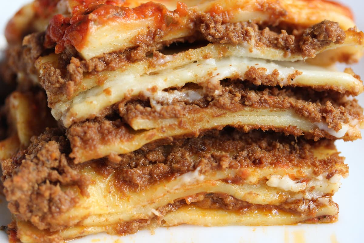 what to eat in italy lasagna