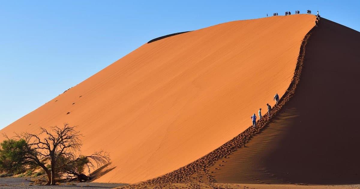 Namibia travel in april